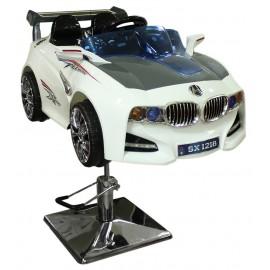 Детское парикмахерское кресло машинка BMW
