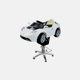 Детское парикмахерское кресло Авто Кабрио А222 КР белый