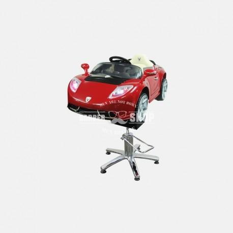 Детское парикмахерское кресло Авто Кабрио А222 КР красный