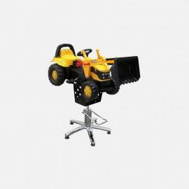 Детское парикмахерское кресло Трактор