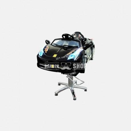 Детское парикмахерское кресло Авто Кабрио черный