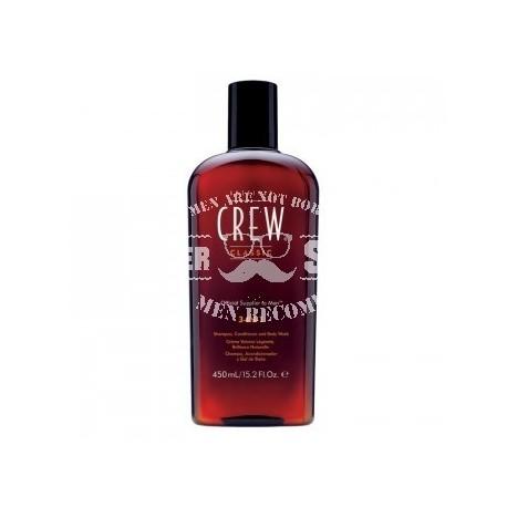 Средство для волос 3 в 1 (шампунь, кондиционер и гель для душа) 450мл American Crew Classic