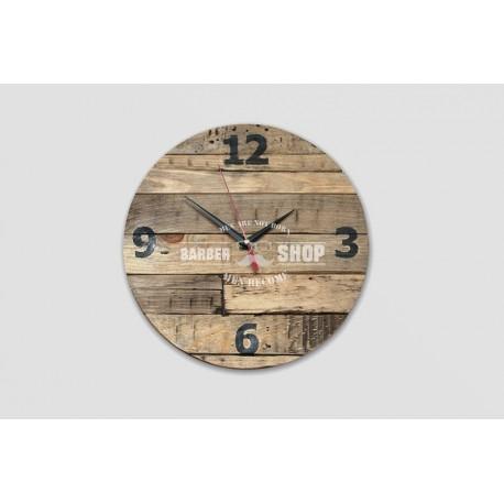 Часы настенные для барбершопа Edmond