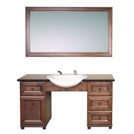 Мужское парикмахерское зеркало с раковиной