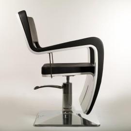 Мужское парикмахерское кресло TSU Black